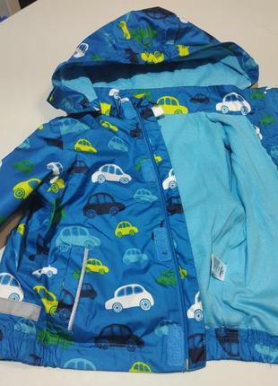 Фирменная куртка, ветровка на мальчика 9-12 месяцев topomini