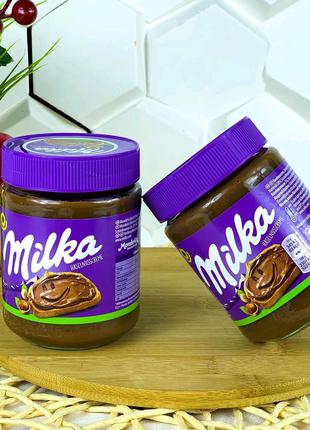 Шоколадная Паста Milka , вес 350 г.