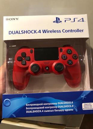 Геймпад DualShock 4 V2 Red, Красный