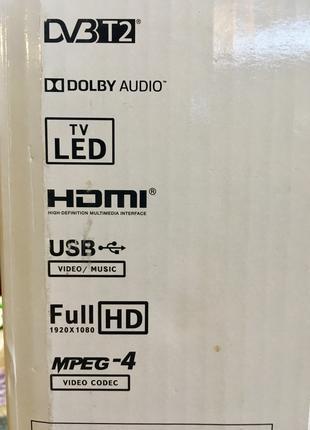 LED телевизор JVC LT-22m440+Т2, год гарантии