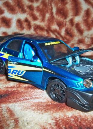 Модель Subaru Impreza WRX 1.24 Bburago