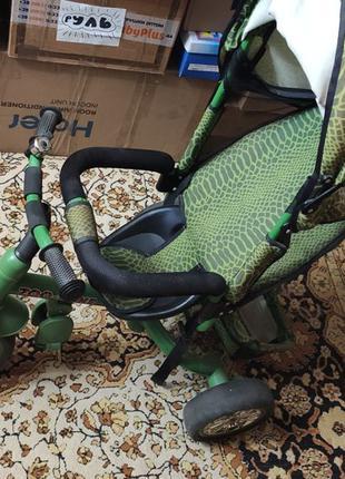 Велосипед детский трехколесный Tilly Zoo-Trike Green (BT-CT-0005)