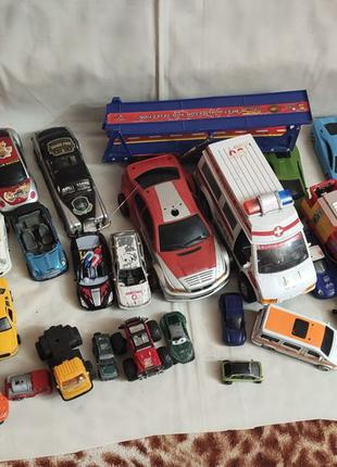 Машинки, модели kinsmart, игрушки для ребенка, грузовики, авто...