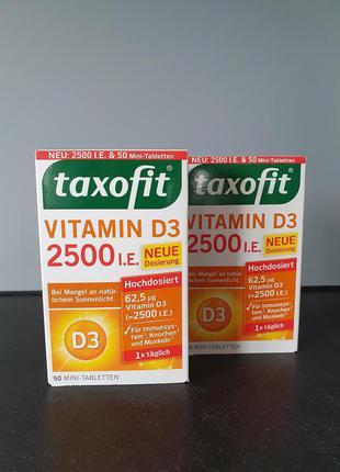 Витамин D3 , Taxofit  , 2500 IE , Германия