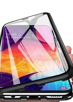 Magnetic case Full Glass 360 (магнитный чехол) для Iphone X / XS