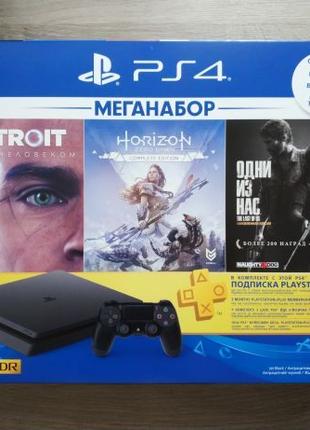NEW PlayStation 4 1tb slim PS4 Horizon + Detroit + Lust of Us + P