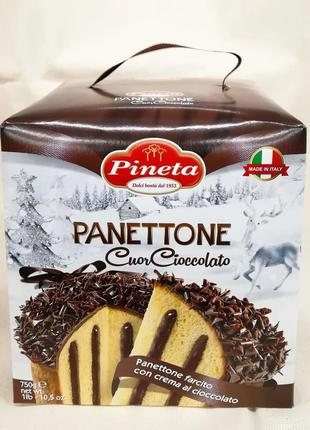 Панеттоне Шоколадне Серце, Pineta 750g