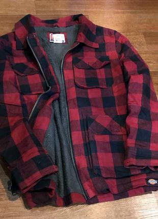 Продам теплую куртку/рубашку Carhartt