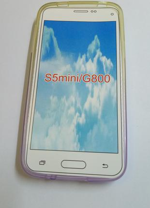 Силиконовый чехол (бампер) Samsung Galaxy S5 mini