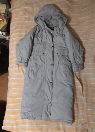 Женская удлинённая куртка . Роз. L.