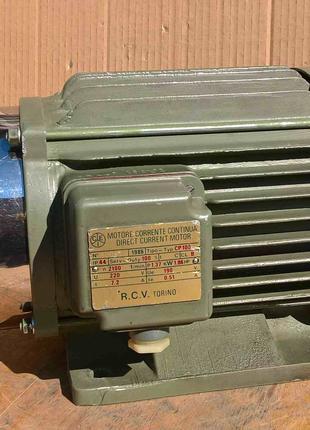 Электродвигатель двигатель постоянного тока ИТАЛИЯ.220в. ВИДЕО.