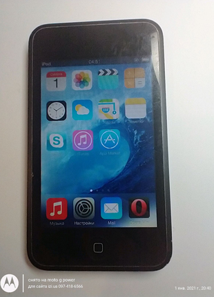 MP3 плеер Apple iPod touch 8GB Black A1213