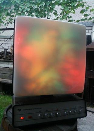 Цветомузыка электроника е1-04м ссср ретро винтаж уцсм-1 светом...