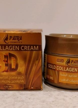 Крем для лица Gold collagen Cleopatra 125 ml Египет