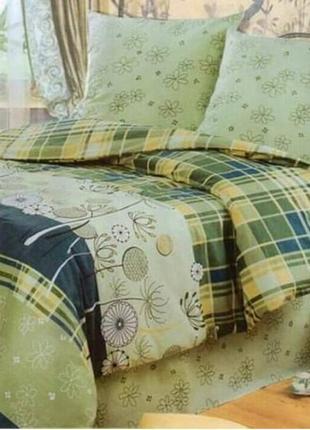 Постельное двухспальное белье из бязи голд