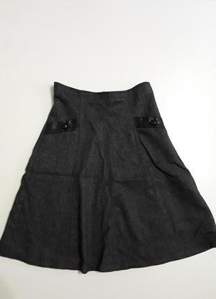 Фирменная шерстяная очень красивая юбка