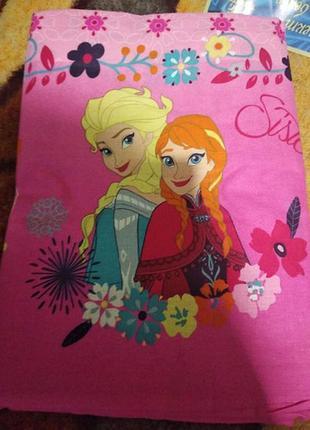 """Детское постельное белье для девочки из ранфорса""""сестры ельза ..."""