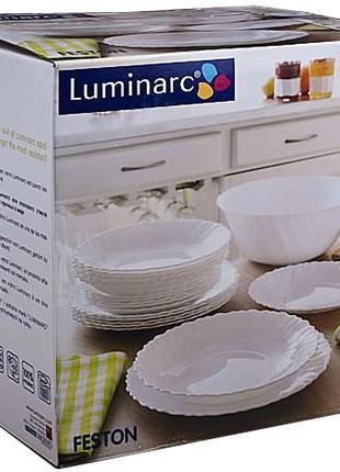 Столовый сервиз 19 предметов Luminarc Скидка 50% на 6 персон