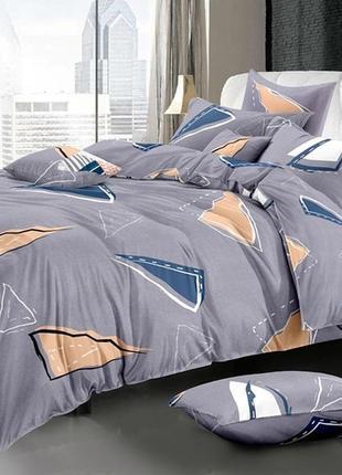Двухспальное постельное белье из ранфорса