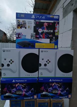 Приставка Microsoft Xbox Series S/PS4 Slim/Playstation VR/xbox X