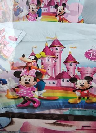 Детский комплект постельного белья из сатина