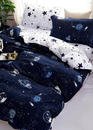 Двухспальный комплект постельного белья из ранфорса