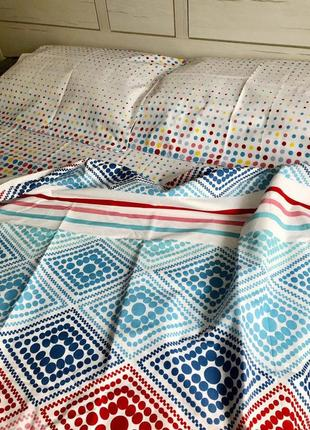 Двухспальной комплект постельного белья из бязь голд пакистан