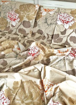 Двухспальное постельное белье из бязь голд