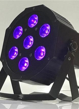 7x18 RGBWA+UV Led par Ультрафиолетовый Светодиодный Ультрафиол...