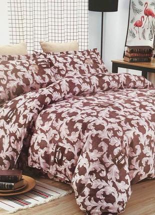 """Евро комплект двухспального постельного белья """"жакард""""roberto ..."""