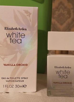 Elizabeth arden white tea vanilla orchid, 30 мл