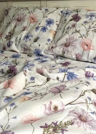 Двухспальной евро комплект постельного белья из бязь голд