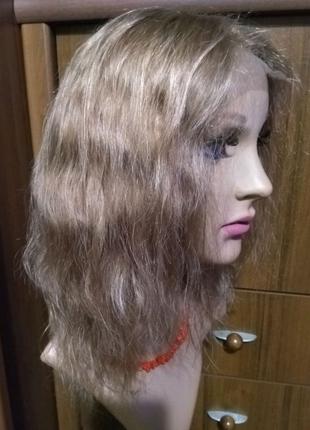 Парик,волосы натуральные