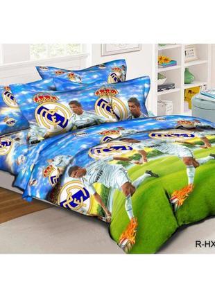 """Детский полуторный комплект постельного белья """" криштиан ронал..."""