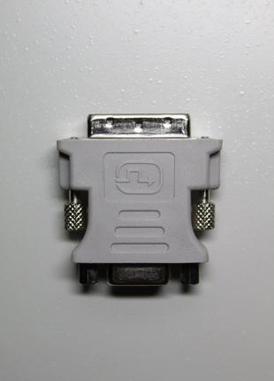Адаптер / Переходник DVI - VGA (Gray)