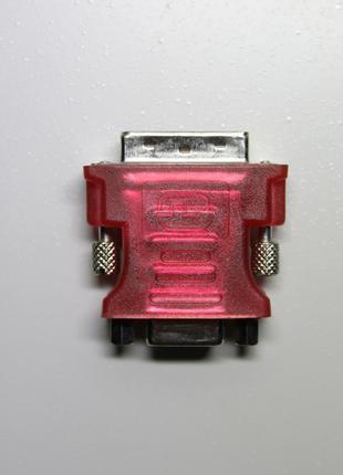 Адаптер / Переходник DVI - VGA (Red)