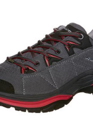 Топовые  трекинговые  кроссовки lowa ferrox gtx gore-tex lo.