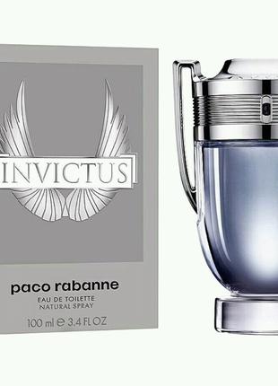 Мужская Туалетная вода Paco Rabanne Invictus 100 ml