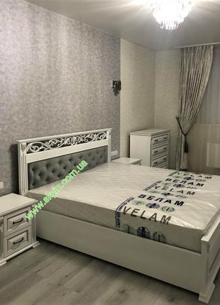 Спальный гарнитур Лорен из массива ясеня