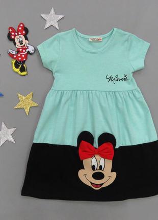 Летнее платье Minnie Mouse для девочки