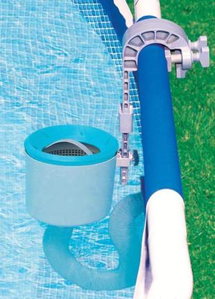 Скиммер для бассейна навесной поверхностный от фильтр-насоса