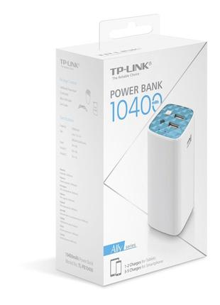Универсальная мобильная батарея TP-LINK TL-PB10400 10400 mAh Li-i