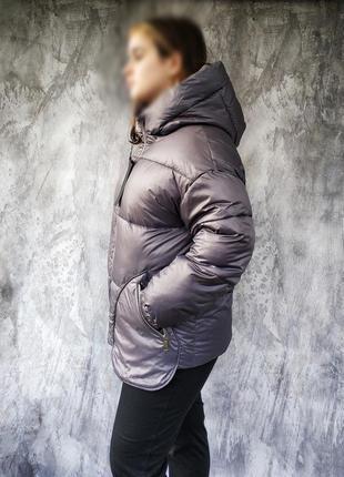 Красивая женская зимняя куртка, еврозима