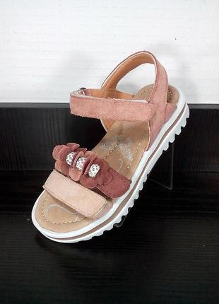 Детские босоножки том.м. кожаные сандали с ортопедической стел...