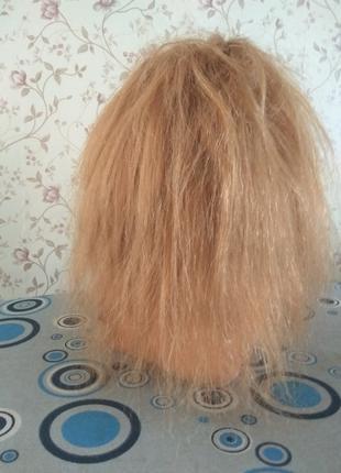 Парик шиньон из натуральных волос