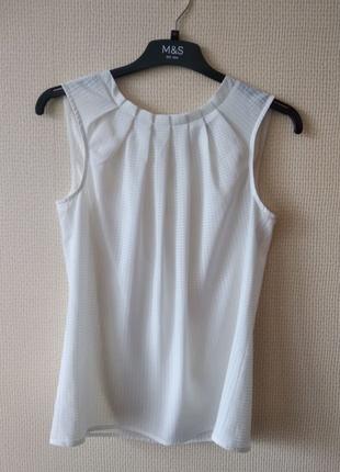 Блуза женская белая без рукавов Orsay р. S М