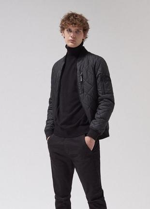Стёганая мужская куртка cropp