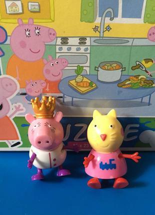 Фигурки свинка Пеппа и друзья Peppa Pig