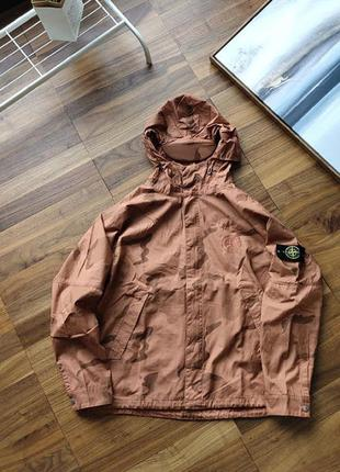 Куртка stone island x supreme camo brown
