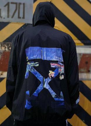 Ветровка куртка off-white
